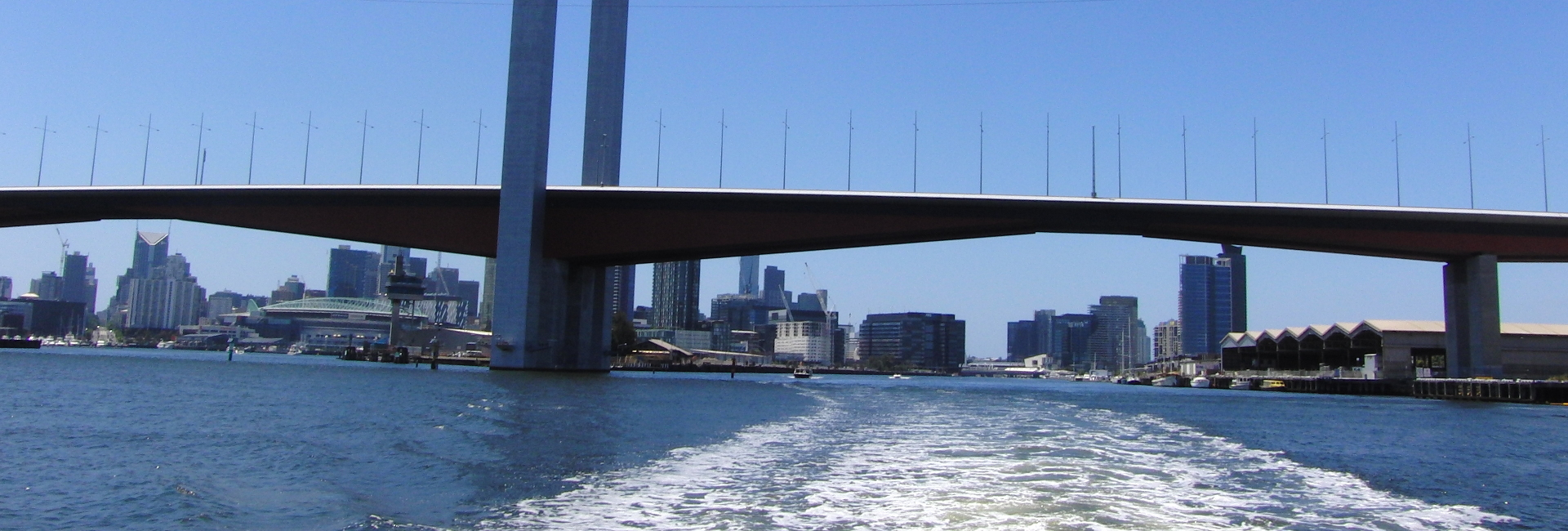 Cruise A: Port of Melbourne and Docklands: Downstream
