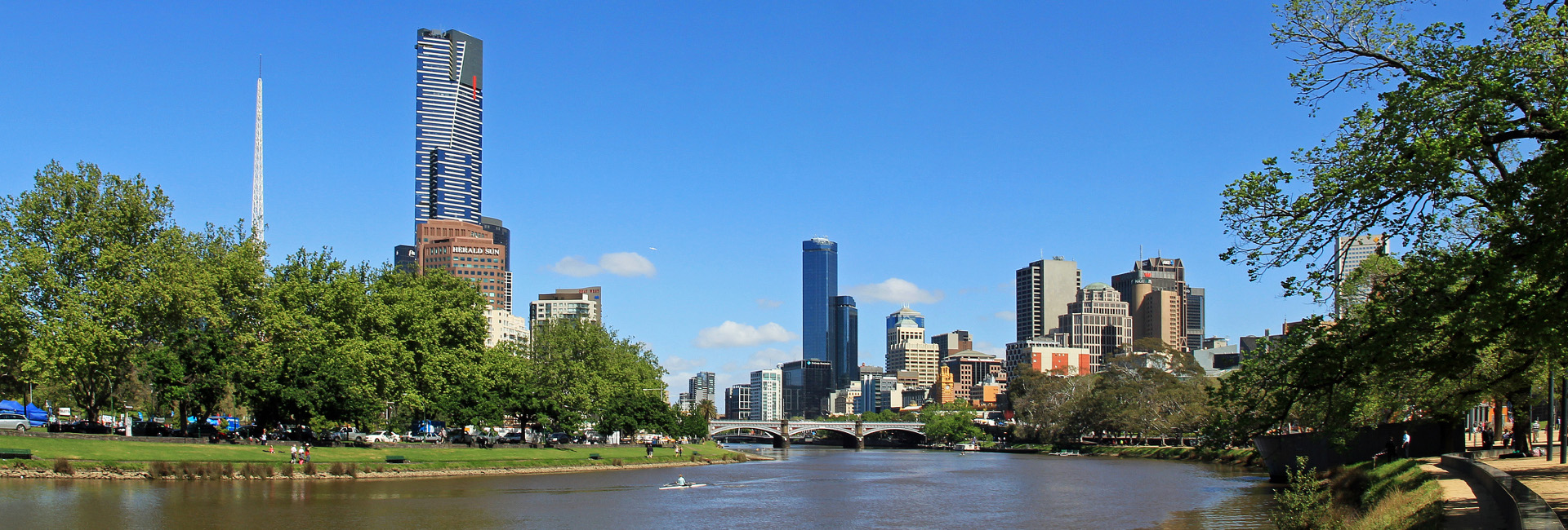 Cruise B: Parks, Sports Precinct and River Gardens: Upstream