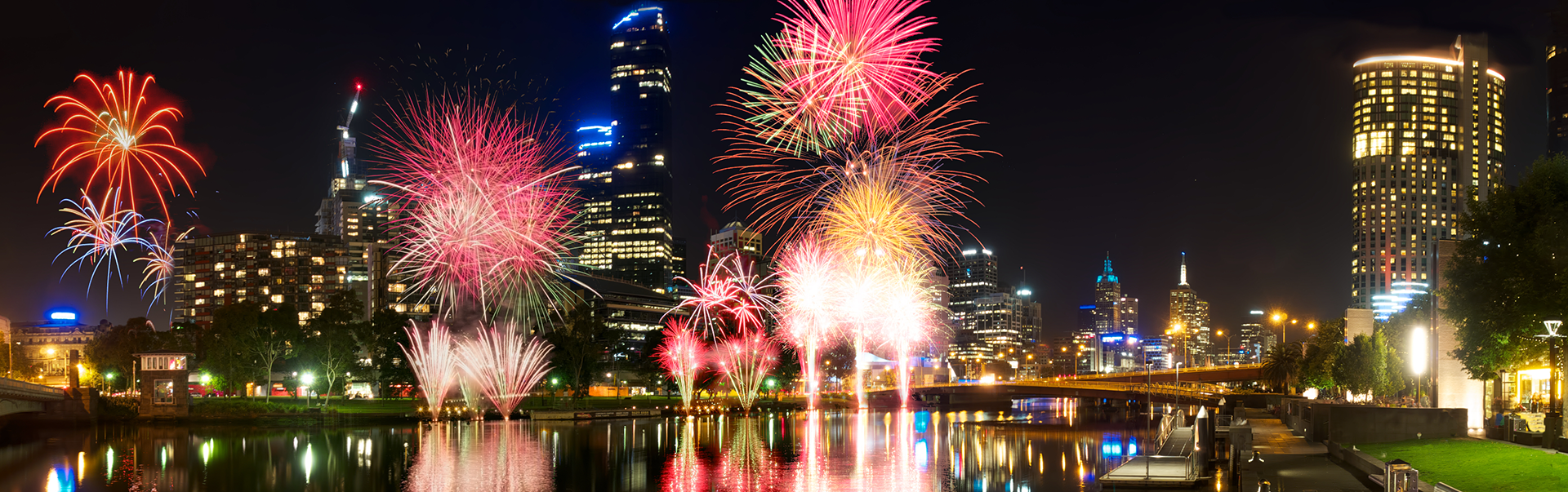 New Years Eve Cruise on the Yarra